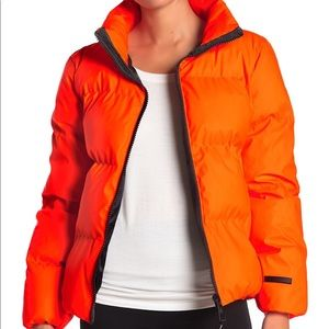 ✨🆕✨ Juice Couture Black Label neon puffer jacket